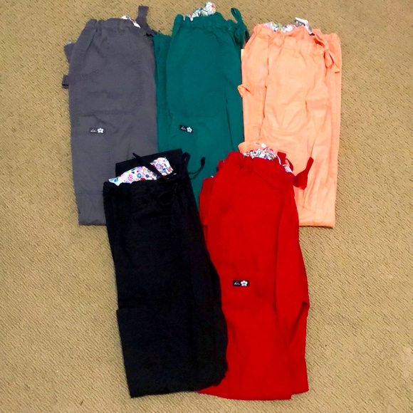 Koi Small and X-Small Tall Scrub Pants & Shirts